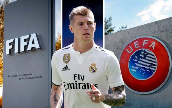 Тони Кроос: Хөлбөмбөгчид FIFA, UEFA-ийн утсан хүүхэлдэй болж байна