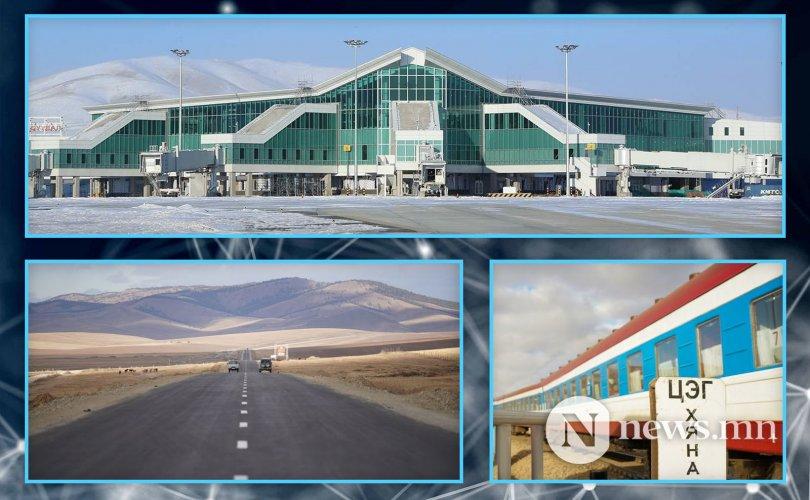 2020-2024 онд хийгдэх зам тээврийн онцлох бүтээн байгуулалтууд