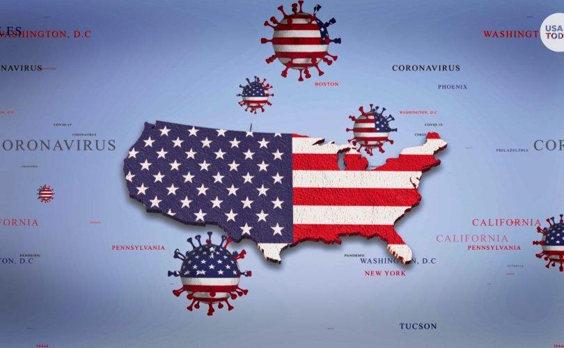 Covid-19: АНУ-д 2 өдөр дараалан 100 мянгаас дээш тохиолдол бүртгэгдлээ