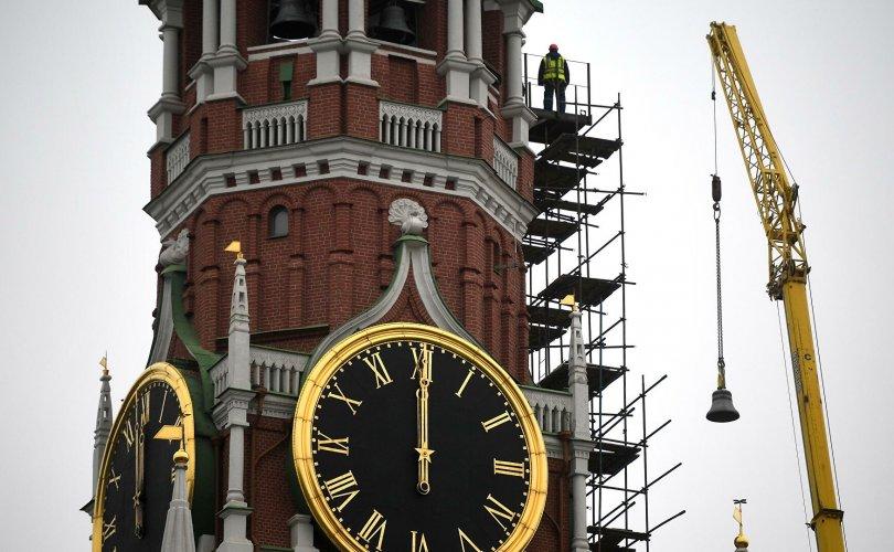 Кремлийн цаг дахин дуугарч эхэллээ