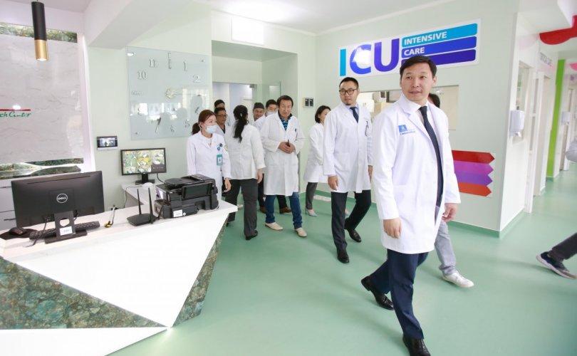ГССҮТ Европ стандартын эрчимт эмчилгээний тасгийг байгууллаа
