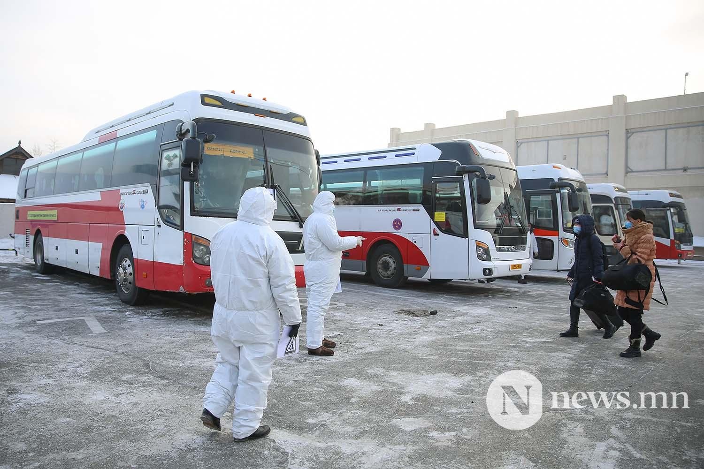 Орон нутгийн тээвэр автобус хөдөө орон нутгийн иргэд COVID-19 (46)