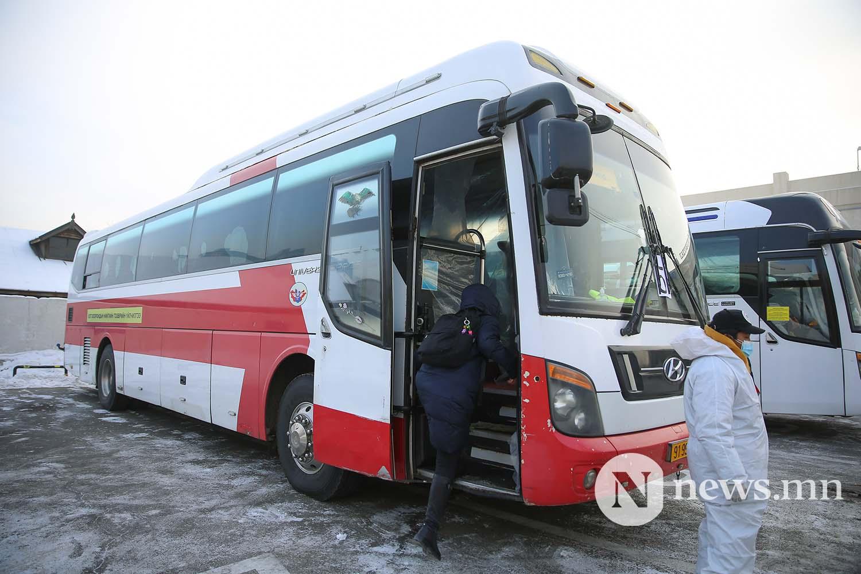 Орон нутгийн тээвэр автобус хөдөө орон нутгийн иргэд COVID-19 (50)