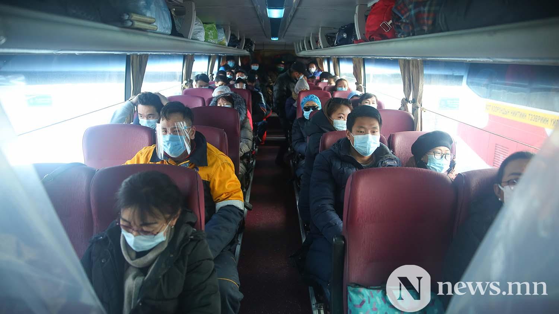 Орон нутгийн тээвэр автобус хөдөө орон нутгийн иргэд COVID-19 (52)