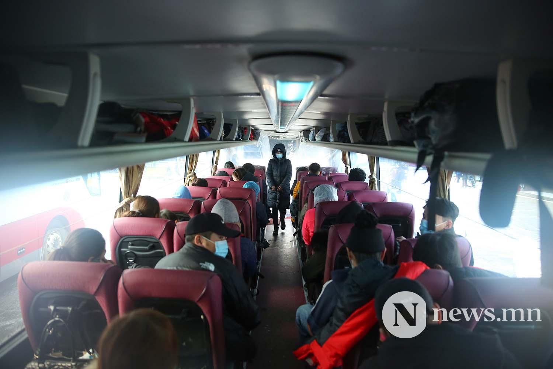 Орон нутгийн тээвэр автобус хөдөө орон нутгийн иргэд COVID-19 (53)