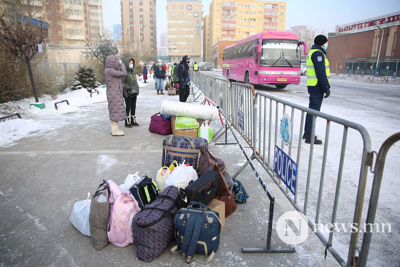 Орон нутгийн тээвэр автобус хөдөө орон нутгийн иргэд COVID-19 (58)