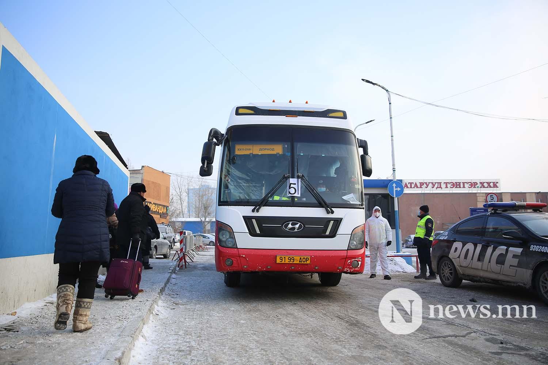 Орон нутгийн тээвэр автобус хөдөө орон нутгийн иргэд COVID-19 (64)