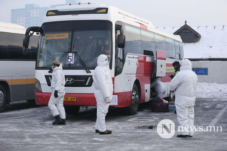Орон нутгийн тээвэр автобус хөдөө орон нутгийн иргэд COVID-19 (66)