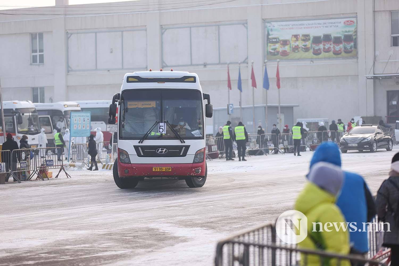 Орон нутгийн тээвэр автобус хөдөө орон нутгийн иргэд COVID-19 (76)
