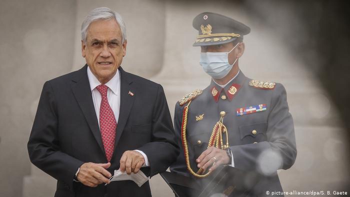 Амны хаалт зүүгээгүй Чилийн ерөнхийлөгч 3500 доллараар торгуулав
