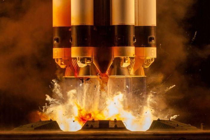 ОХУ хүнд даацын сансрын пуужингаа амжилттай туршлаа