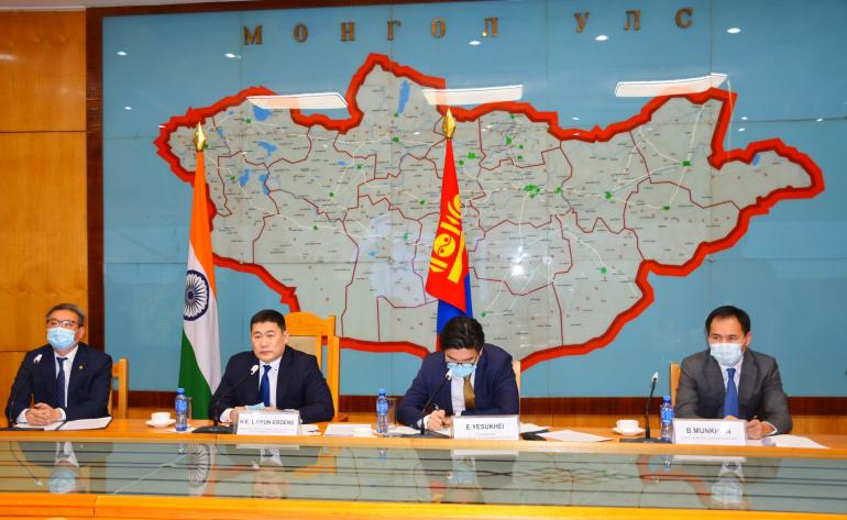 Монгол, Энэтхэгийн хамтын ажиллагааны хамтарсан хорооны хурал боллоо