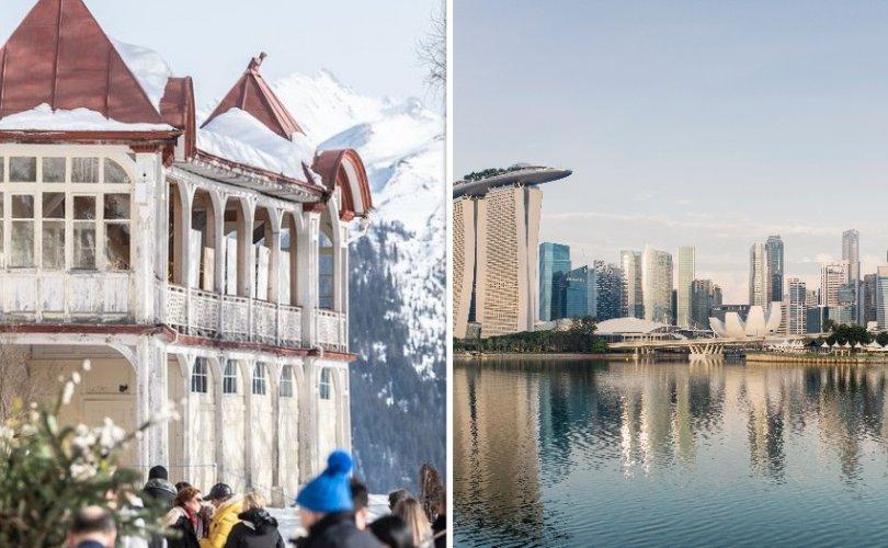 Цар тахлын улмаас Давосын чуулган Сингапурт болно