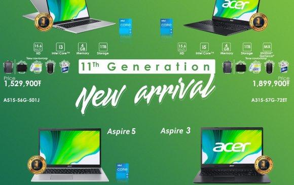 XI үеийн Acer брэндийг албан ёсны эрхтэйгээр худалдаалж эхэллээ