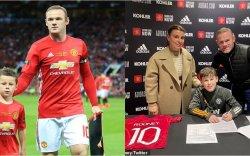 Уэйн Рунигийн хүү Манчестер Юнайтедтай гэрээ байгуулав