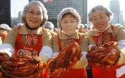 Өмнөд Солонгос, Хятад улсууд кимчинээс болж маргалдав