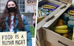 НҮБ анх удаа Их Британийн хүүхдүүдэд тусламжийн хүнс хүргэж байна