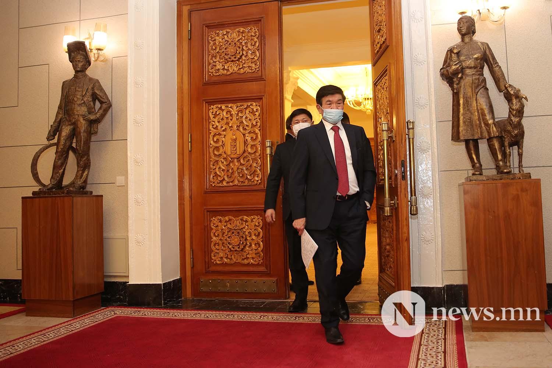 Засгийн газрын шинэ сайд нар Чуулган (1)