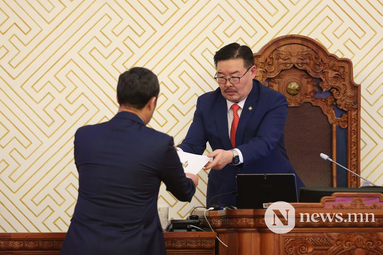Засгийн газрын шинэ сайд нар Чуулган (103)