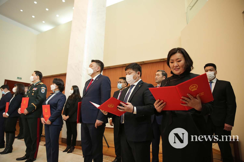 Засгийн газрын шинэ сайд нар Чуулган (14)