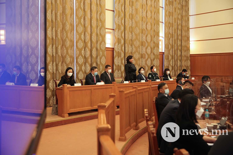 Засгийн газрын шинэ сайд нар Чуулган (140)