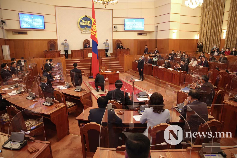 Засгийн газрын шинэ сайд нар Чуулган (27)