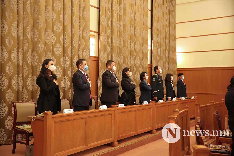 Засгийн газрын шинэ сайд нар Чуулган (37)