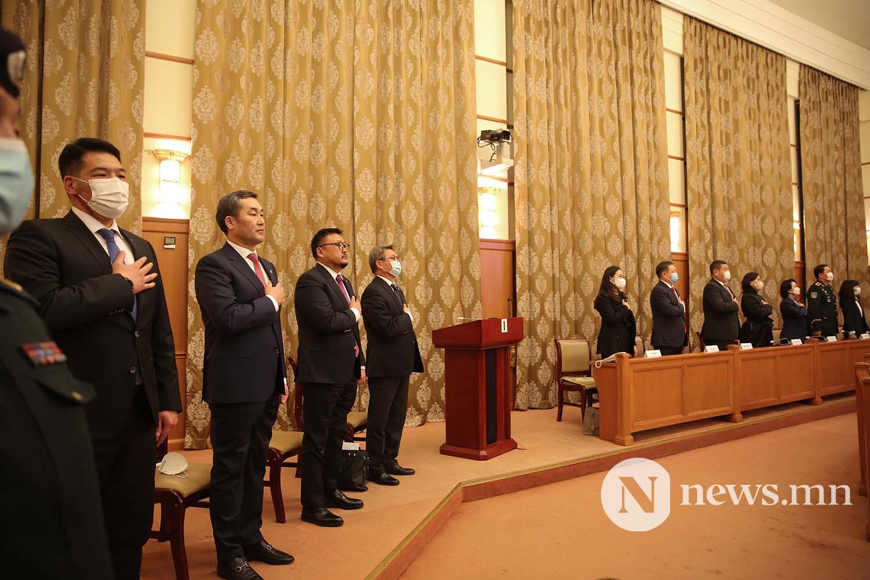 Засгийн газрын шинэ сайд нар Чуулган (39)
