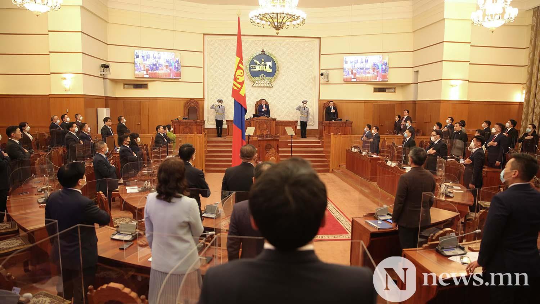 Засгийн газрын шинэ сайд нар Чуулган (45)