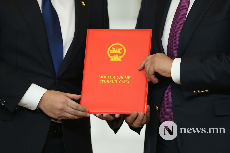 Засгийн газрын шинэ сайд нар Чуулган (65)