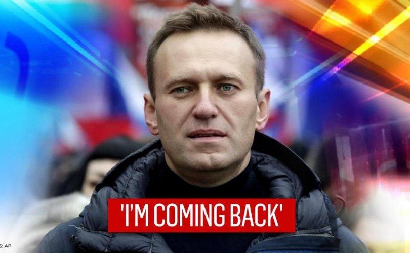Навальный Ням гаригт Орос руу буцна