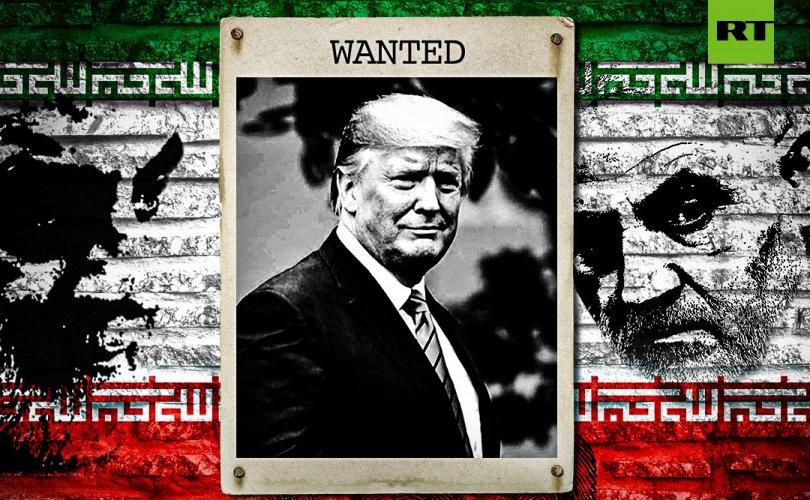 Иран Трампыг баривчлуулахаар дахин Интерполд хандлаа