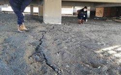 Ханх сумын барилгуудад ан цав үүсч, үндсэн хэв нь гажжээ