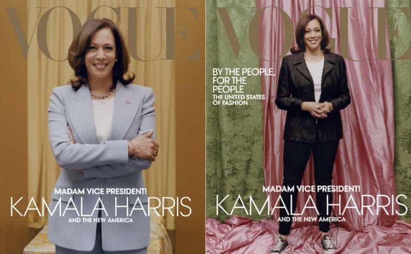 Камала Харрис Vogue сэтгүүлийн нүүрийг чимлээ