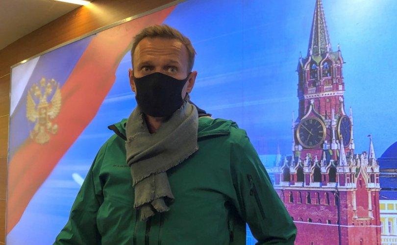Алексей Навальныйг Москвад газардангуут саатуулжээ