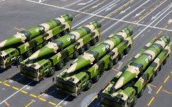Хятад: Сургуулилалтад зориулж баллистик пуужин харвагч илгээв
