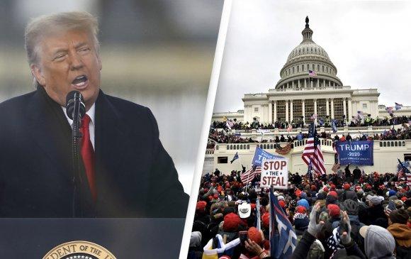 Трамп Вашингтонд онц байдал тогтоолоо