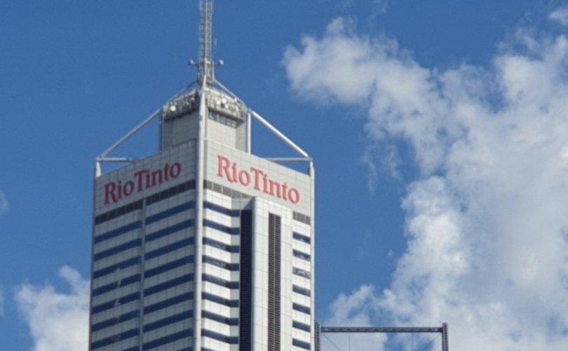 """""""Рио Тинто""""-гийн хувьцааны ханш сулрав"""