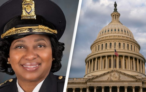 Африк гаралтай эмэгтэй Капитолын цагдаагийн газрын дарга боллоо