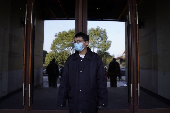 Virus Outbreak China WHO Mission