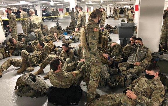 Үндэсний гвардын хэдэн зуун цэрэг халдвар авчээ