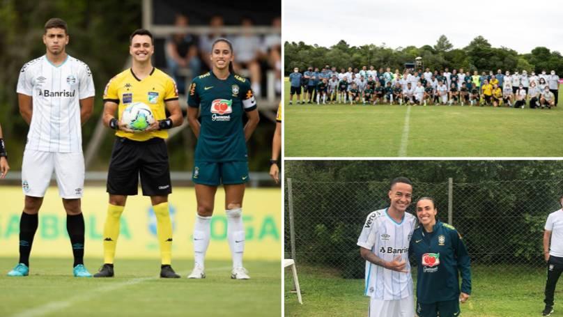 Бразилийн эмэгтэй шигшээ баг өсвөрийн багтаа хожигджээ