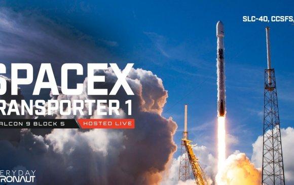 """""""SpaceX"""" нэг дор 143 хиймэл дагуул хөөргөж дээд амжилт тогтоов"""