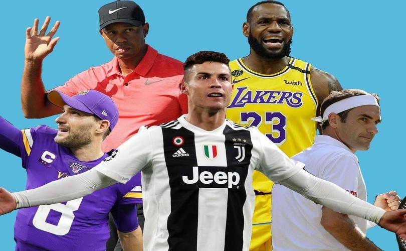 2020 оны хамгийн их ашиг орлого олсон 30 тамирчин