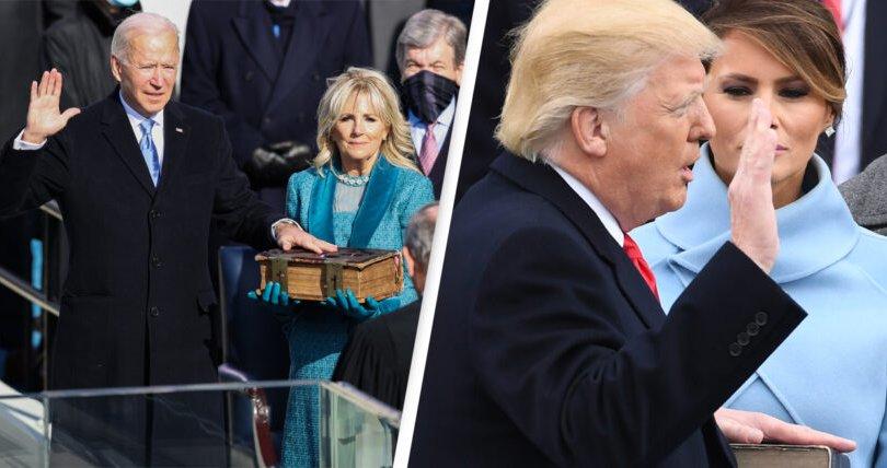 Байдены тангараг өргөх ёслолыг Трампынхаас сая илүү хүн үзжээ