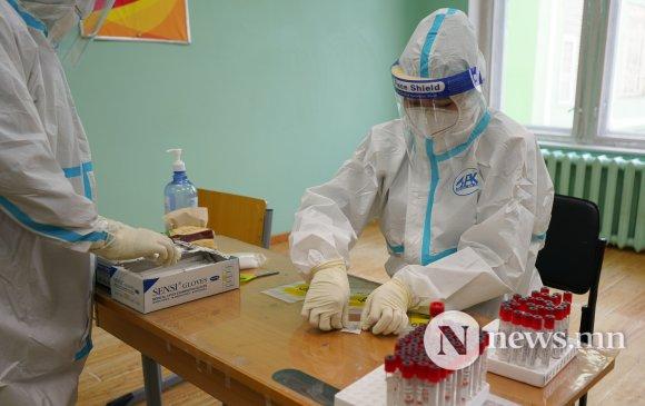 Сүхбаатар дүүргийн өрхүүд өнөөдөр PCR шинжилгээнд хамрагдана