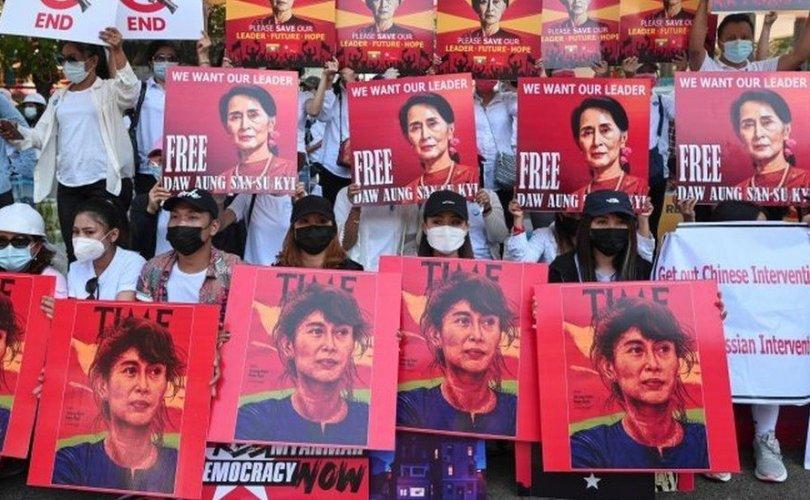 Мьянмарын хувьсгалыг эсэргүүцэгчдийг хүчээр дарж магадгүй
