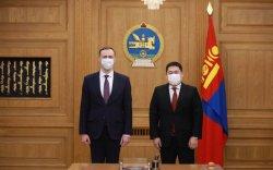 Ерөнхий сайд Л.Оюун-Эрдэнэ Беларусь улсын Элчин сайдыг хүлээн авч уулзав