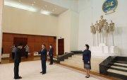 БНСВУ-аас Монгол Улсад суух Элчин сайд жуух бичгээ барилаа
