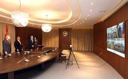 Монгол Улсын Ерөнхийлөгч Х.Баттулга энхийг сахиулагчидтай цахим уулзалт хийлээ